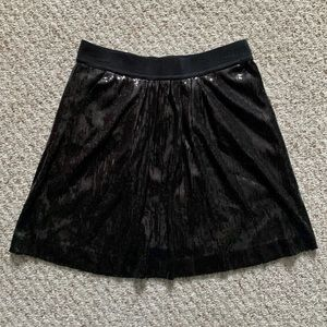 NWT Ann Taylor Sequin Swing Skirt w/ Pockets 2